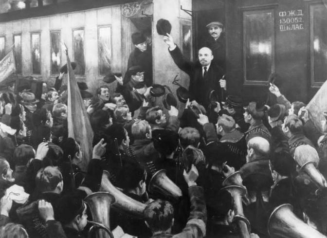 """Ancora una caricatura dell'Ottobre 1917 sulla """"Stampa"""""""