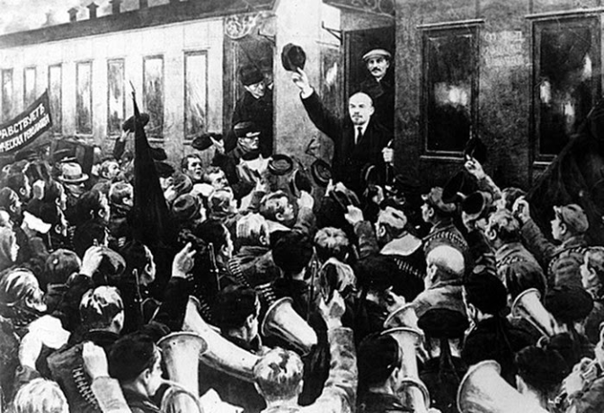 L'impaziente ritorno di Lenin in Russia