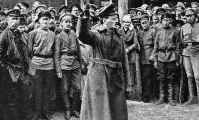 Da New York a Pietrogrado, il ritorno di Trotsky