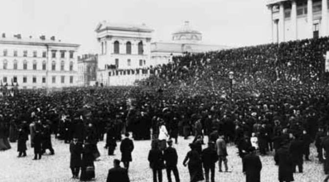 Finlandia 1917-18, la rivoluzione dimenticata