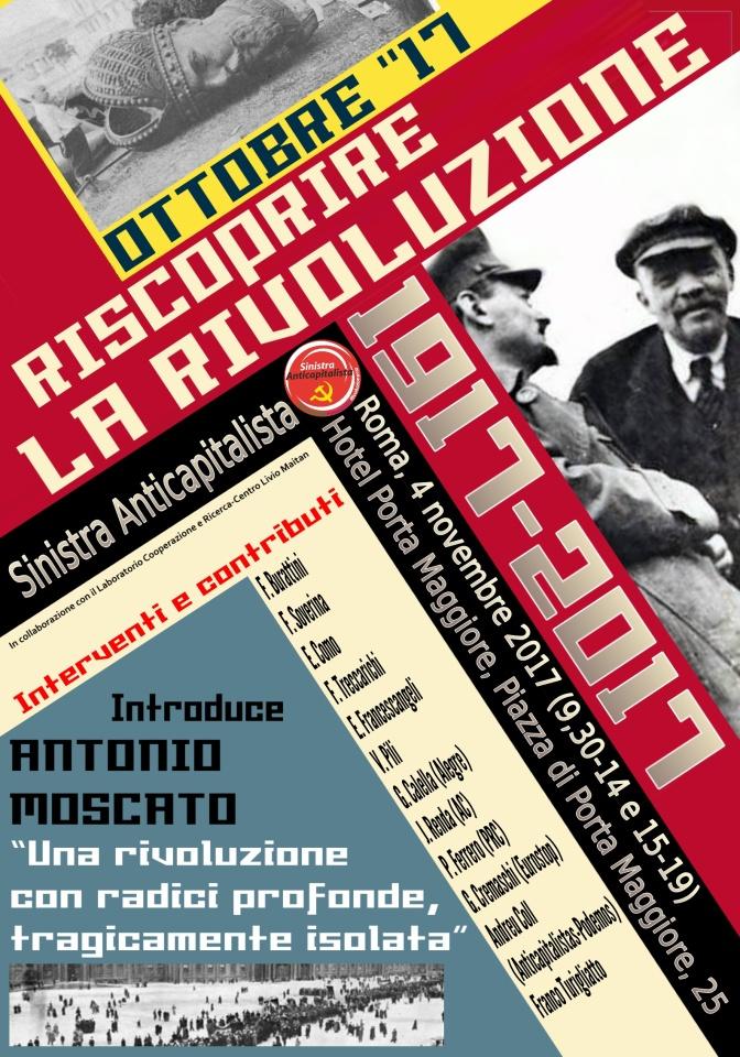Ottobre '17, riscoprire la rivoluzione